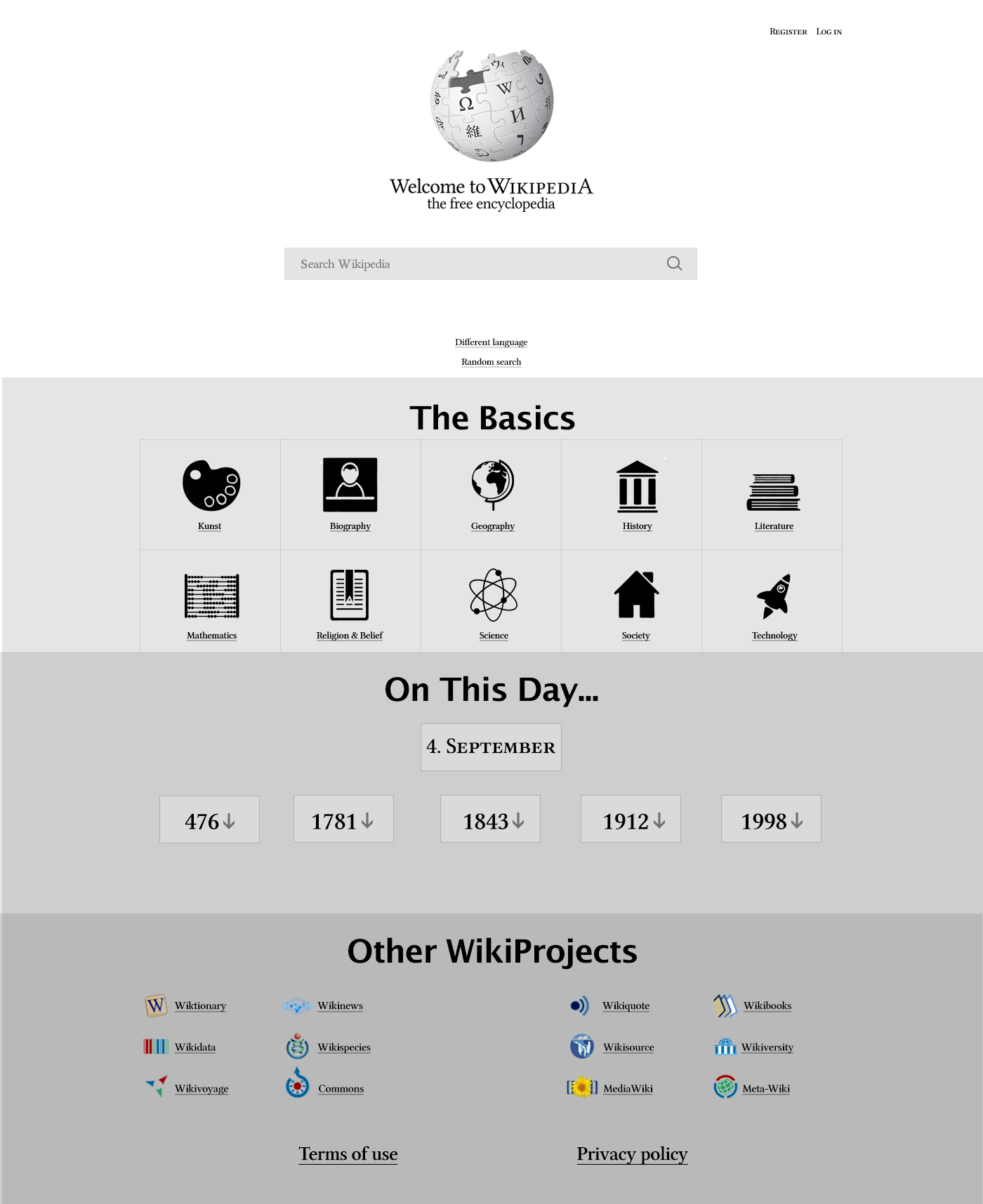 Case - Redesign av WIkipedia - Høyskolen Kristiania - Marie Elena Mathisen